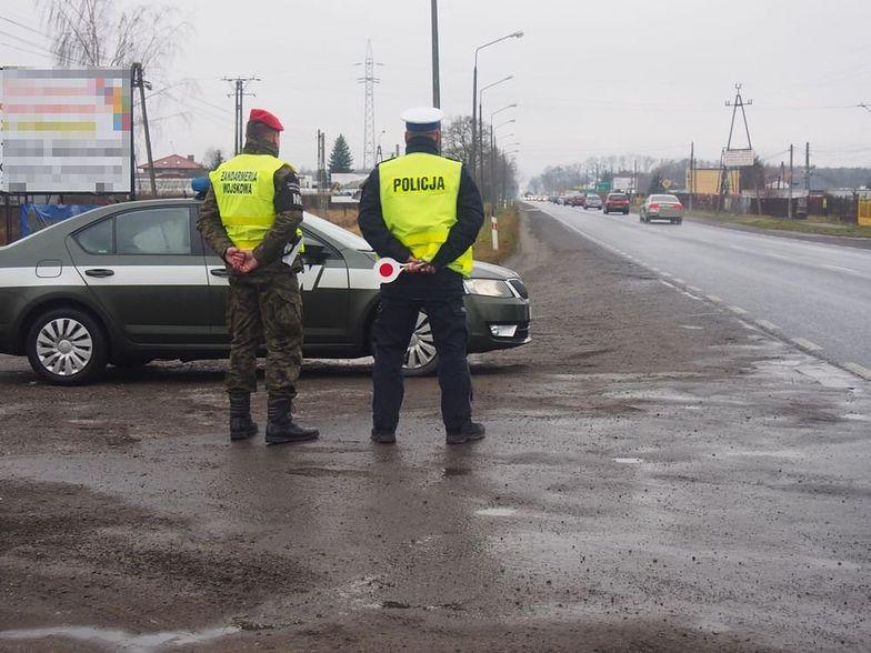 Żandarmeria Wojskowa jak policja podczas kontroli drogowej. Jest projekt