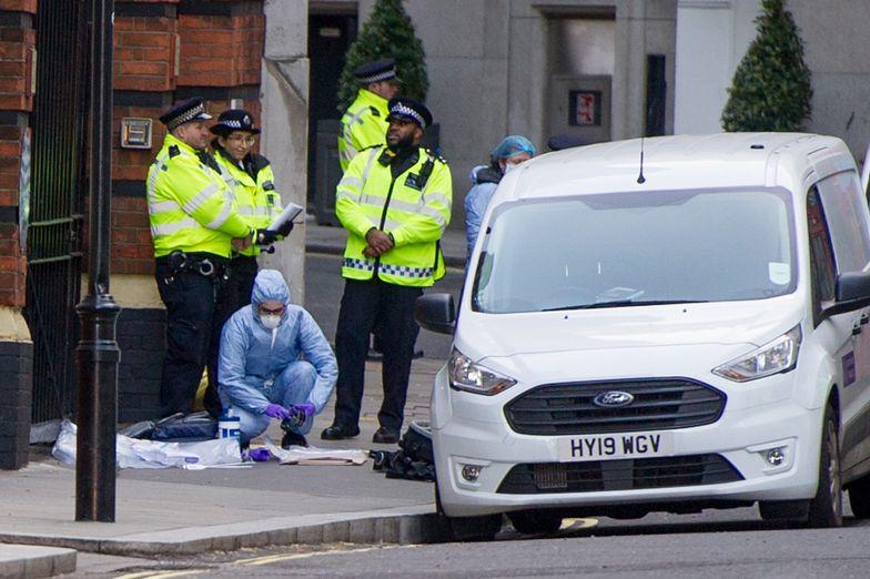 Interwencja brytyjskiej policji