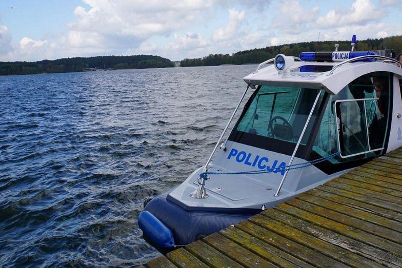 Tragedia nad jeziorem Marwicko. 45-latek utonął na oczach bliskich