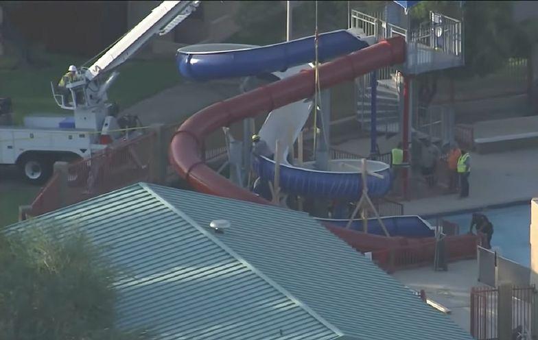 Tragedia na zjeżdżalni w aquaparku. Ratownicy przegrali wyścig z czasem