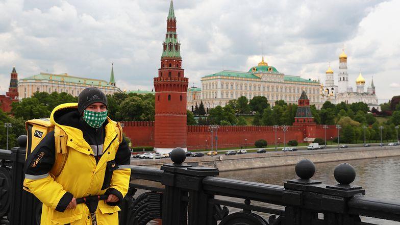 Moskwa jest epicentrum zakażeń w Federacji Rosyjskiej.