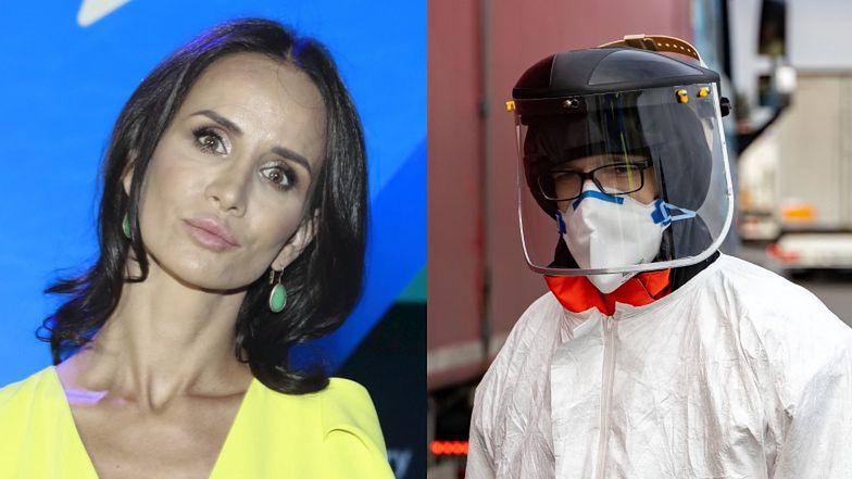 """Viola Kołakowska ZNOWU leci w kulki z koronawirusem: """"Ta pandemia zabija, ALE STRESEM"""""""