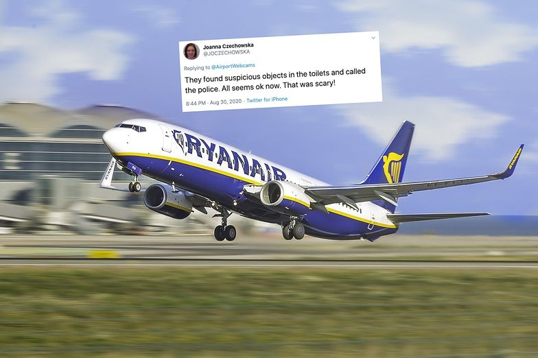 Dramat na pokładzie Ryanaira. Polka: to było przerażające!