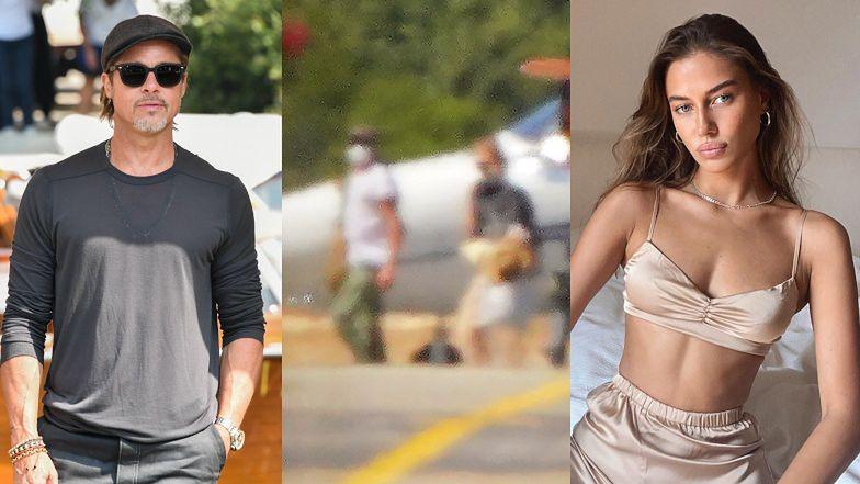 Brad Pitt PRZYŁAPANY na wakacjach z nową kochanką! To młodsza od niego o prawie 30 lat Nicole Poturalski (ZDJĘCIA)