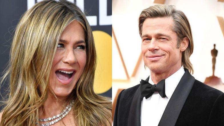 """Jennifer Aniston i Brad Pitt SPĘDZAJĄ RAZEM IZOLACJĘ? """"Wszystko mu wybaczyła"""""""