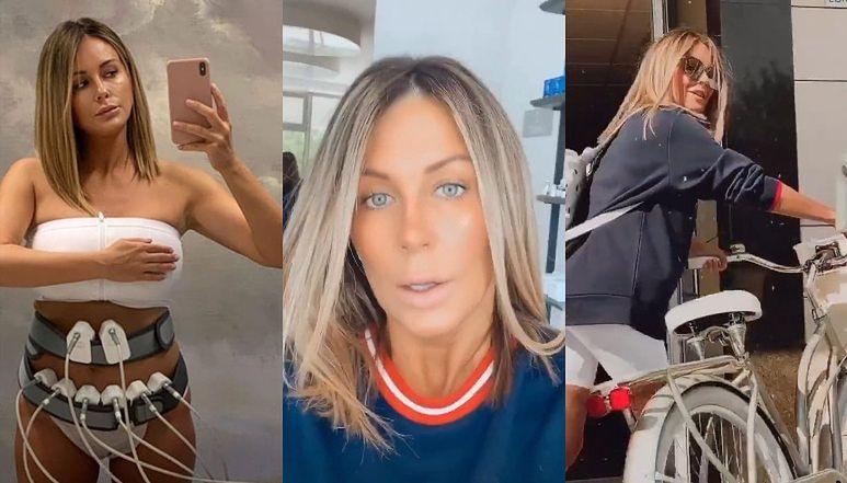 """Wytrwała Małgorzata Rozenek relacjonuje maraton po gabinetach kosmetycznych: """"PRACUJEMY NAD BOCZKAMI"""" (ZDJĘCIA)"""