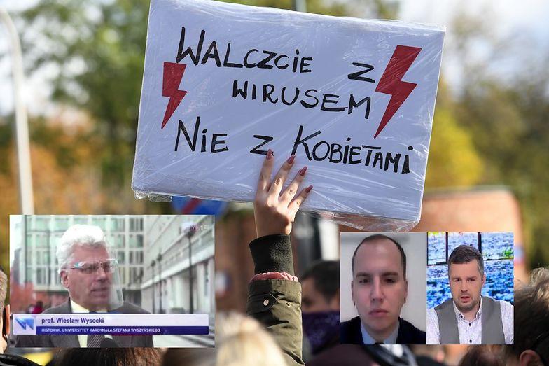 Śmiech i oburzenie po materiale TVP. Zobacz, z czym skojarzono protesty kobiet