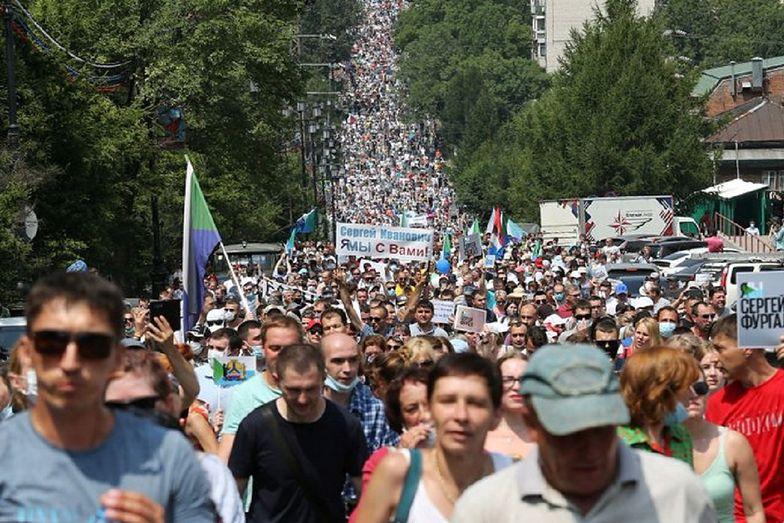 Rosja. Masowe protesty zaskoczyły Kreml
