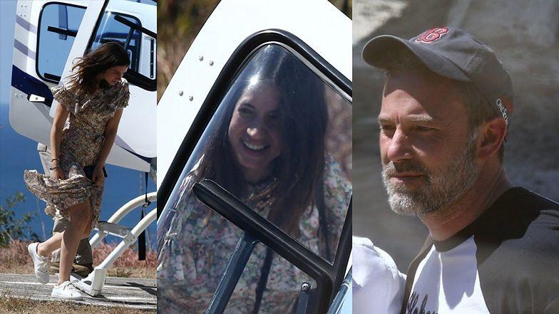 Ben Affleck i jego młodsza o 16 lat ukochana wracają prywatnym helikopterem z romantycznych wakacji na Kostaryce (ZDJĘCIA)