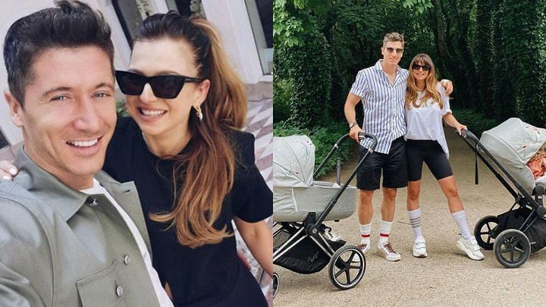 Anna i Robert Lewandowscy zafundowali córkom wózki za ponad 7 tysięcy złotych
