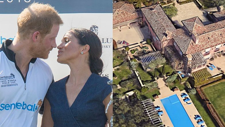 Oto najnowsza posiadłość księcia Harry'ego i Meghan Markle za GRUBO ponad 55 MILIONÓW! (ZDJĘCIA)