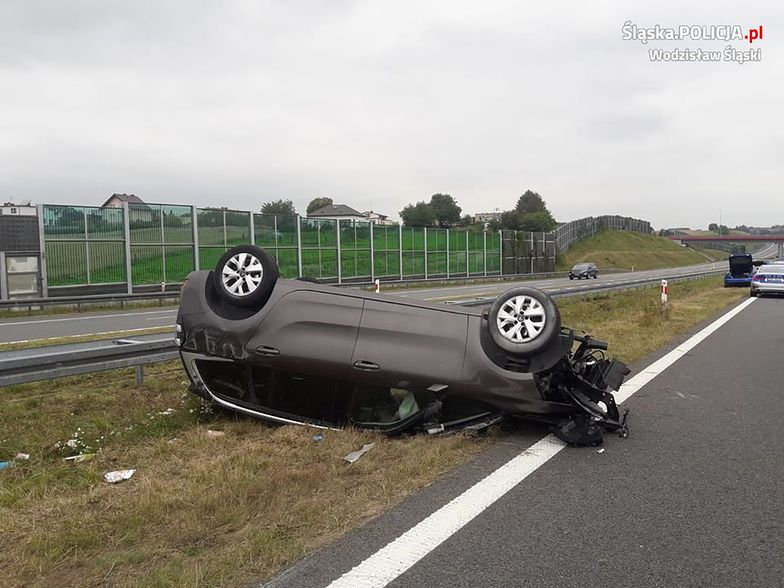 Koszmarny wypadek na A1. Kierowca z Litwy pijany. Ucierpiały 4 osoby