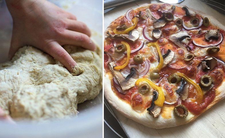 Zaskakujący przepis na ciasto. Domowa pizza gotowa w 40 minut