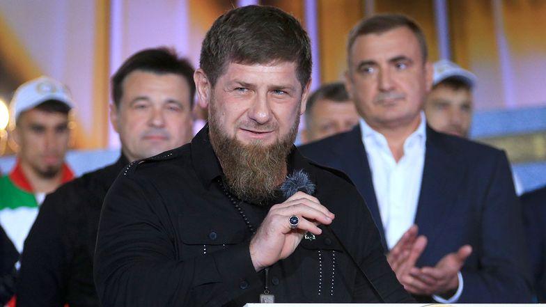 Ramzan Kadyrow rządzi Czeczenią od 2004 roku