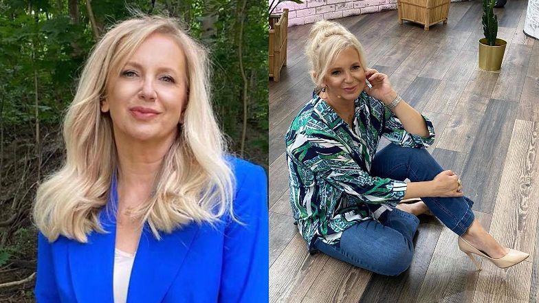"""Coraz """"młodsza"""" Marzena Rogalska w KUCYKU. Kajra porównuje ją do Ibisza: """"Normalnie Benjaminy Buttony"""" (FOTO)"""
