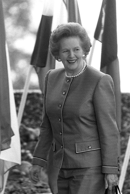 Margaret Thatcher zmarła wskutek udaru