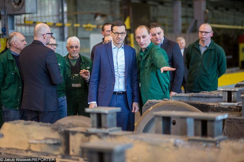 Premier Mateusz Morawiecki odwiedził zakłady H. Cegielski - Poznań S.A. w lutym bieżącego roku