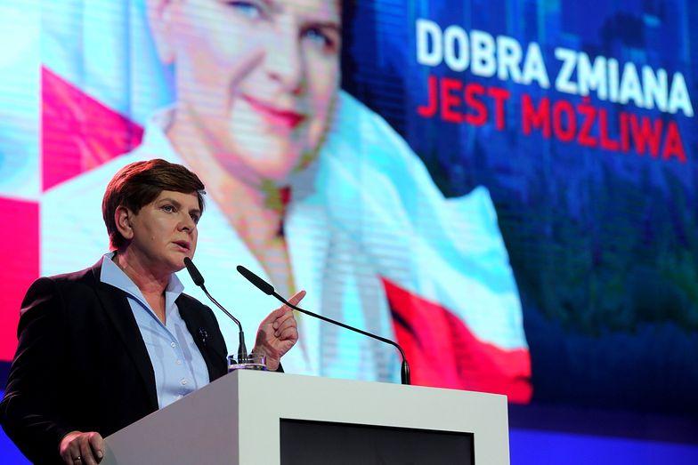 Kandydatka PiS na premiera o wejściu Polski do strefy euro