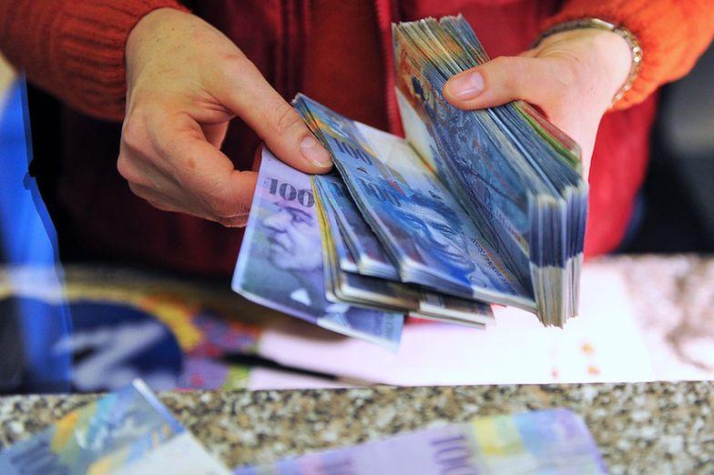 Kurs franka. Premier stanie po stronie ludzi