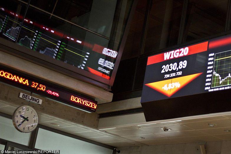 Warszawska giełda dołuje od dawna, ale teraz problem się nasilił.