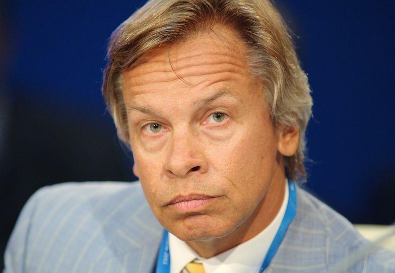 Alexei Pushkov, przewodniczacy komisji spraw zagranicznych