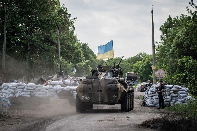 Konflikt na Ukrainie. Rosjanin, który przysiągł wierność Ukrainie