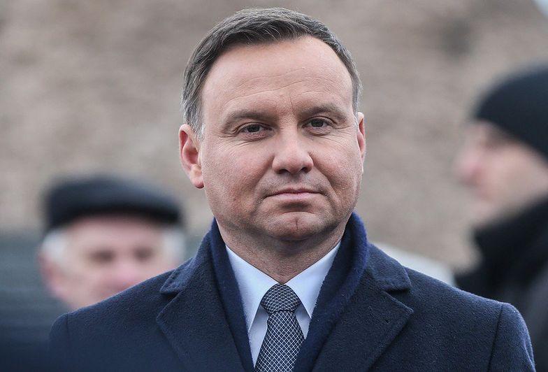 Duda o zniesieniu sankcji wobec Rosji: najpierw realizacja porozumień mińskich