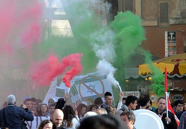 Manifestacje młodzieży w Rzymie. Krytykują rząd