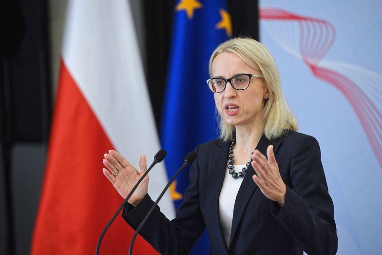 Teresa Czerwińska, minister finansów.