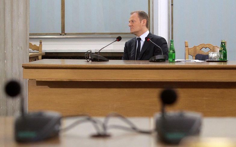 Ostatnie przesłuchanie Donalda Tuska przed komisją śledczą miało miejsce w 2010 roku. Badano wówczas wątki afery hazardowej.
