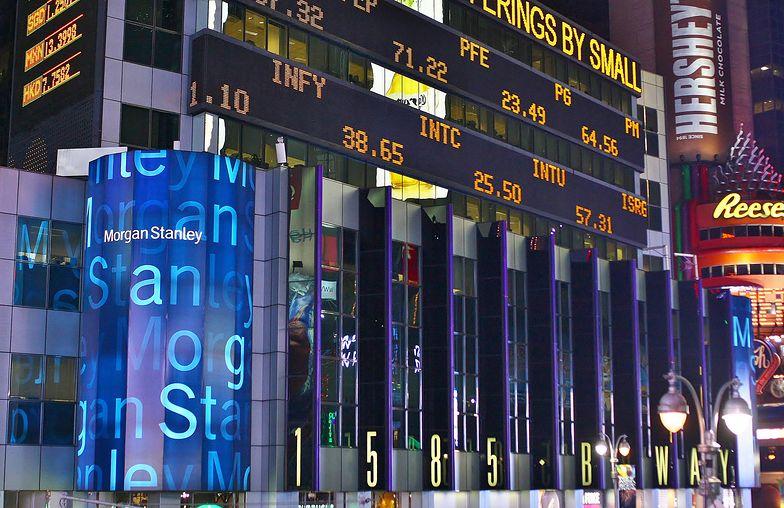 Światowy kryzys. Morgan Stanley zapłaci 3,2 mld dolarów za wprowadzanie klientów w błąd