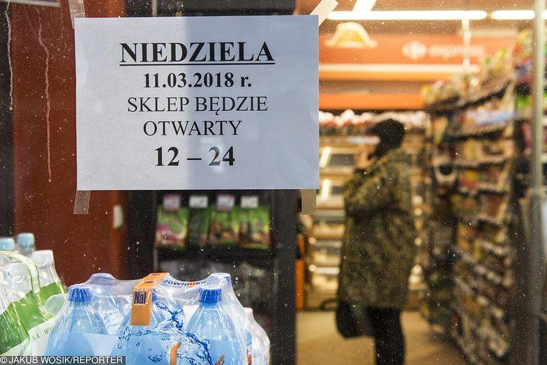 Za otwarcie sklepu w niedzielę może grozić nawet 100 tys. zł mandatu