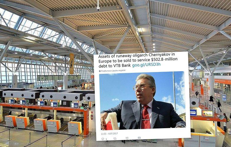Andriej Czerniakow został zatrzymany na terminalu lotniska Chopina.