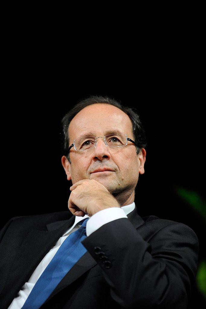 Na zdj. Francois Hollande