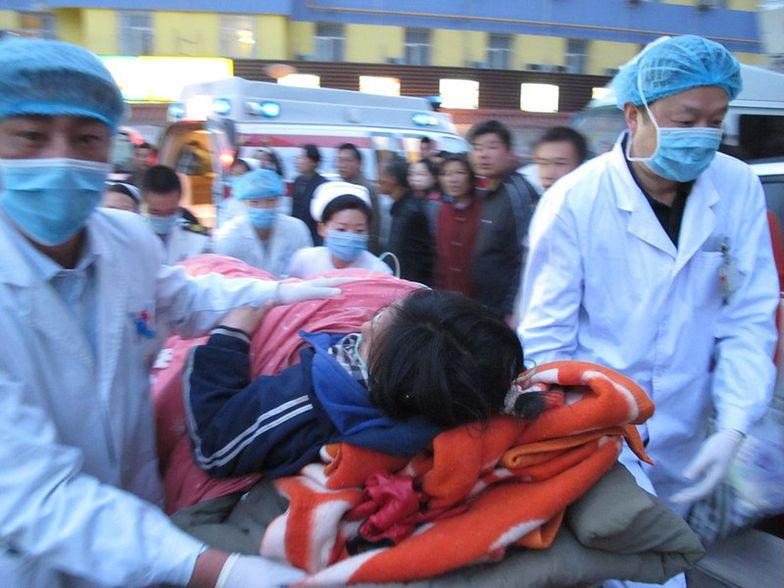 Trzęsienie ziemi w zachodnich Chinach. 54 rannych, 2 ofiary śmietelne