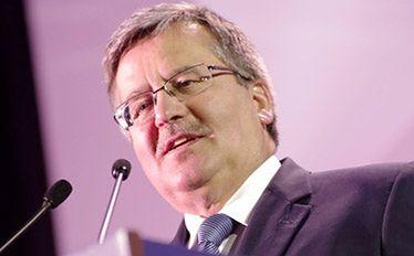 Bronisław Komorowski apeluje: Inwestujcie w Polsce
