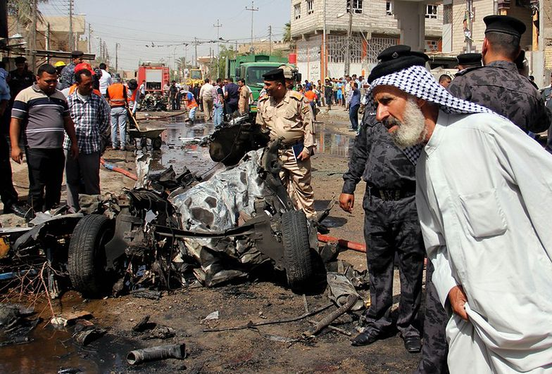 Zamach w Bagdadzie. Ostrzelana ambasada
