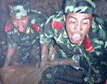 Chiny: 69 górników uwięzionych w kopalni
