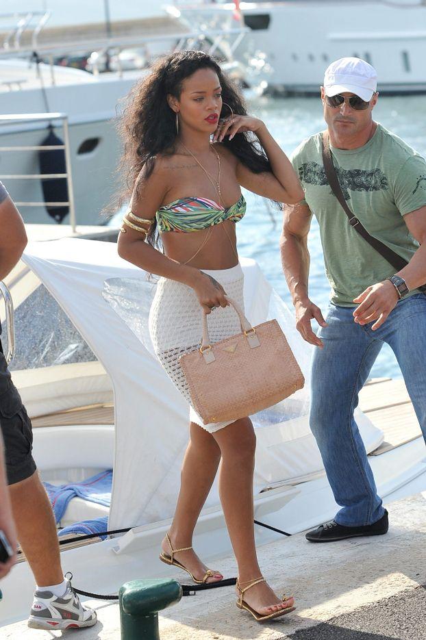Rihanna w bikini w Saint-Tropez!