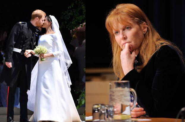 """Sarah Ferguson o ślubie Meghan i Harry'ego: """"Byłam wdzięczna za to, że mnie zaprosili. Chciało mi się płakać"""""""