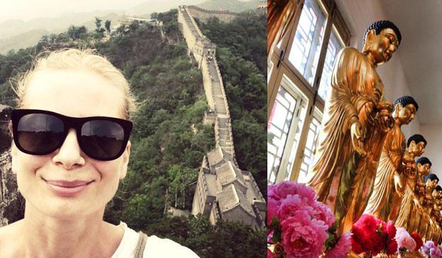 Cielecka na dwa miesiące zamknie się w chińskim klasztorze?