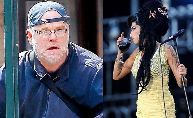 Dilerem Hoffmana był... SAKSOFONISTA Winehouse?!