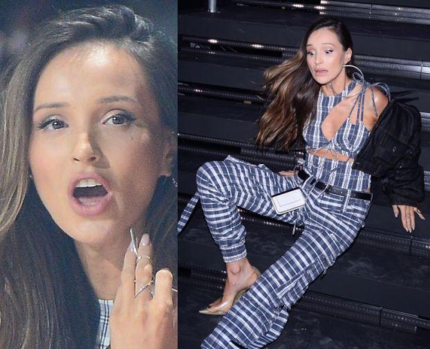 """Marina Łuczenko-Szczęsna SPADŁA ZE SCHODÓW na Flesz Fashion Night! """"Tak się kończą branżowe imprezki"""" (FOTO)"""