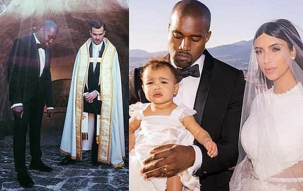 WIĘCEJ ZDJĘĆ ZE ŚLUBU Kim i Kanye!