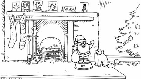 Simon's Cat i Boże Narodzenie...