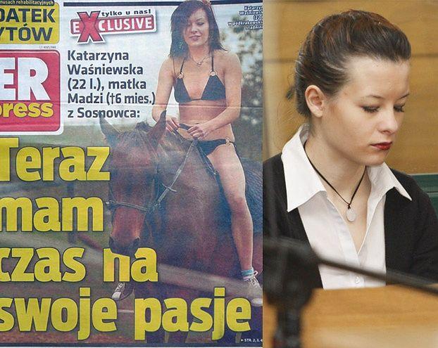 Waśniewska wypiera się kochanka-pedofila!