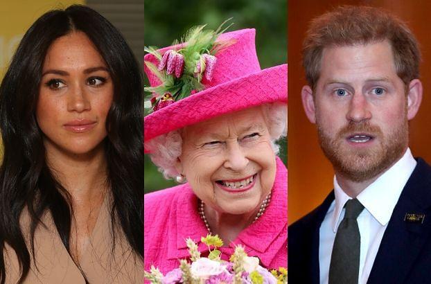Z Pałacu Buckingham ZNIKNĄŁ PORTRET księcia Harry'ego i Meghan Markle!