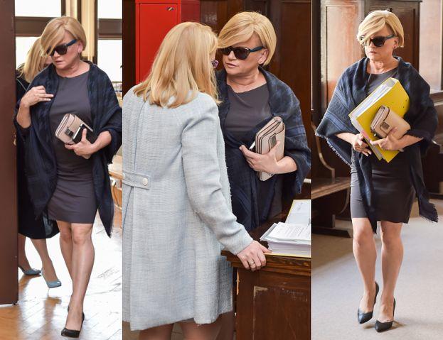 Katarzyna Figura na kolejnej rozprawie rozwodowej (ZDJĘCIA)