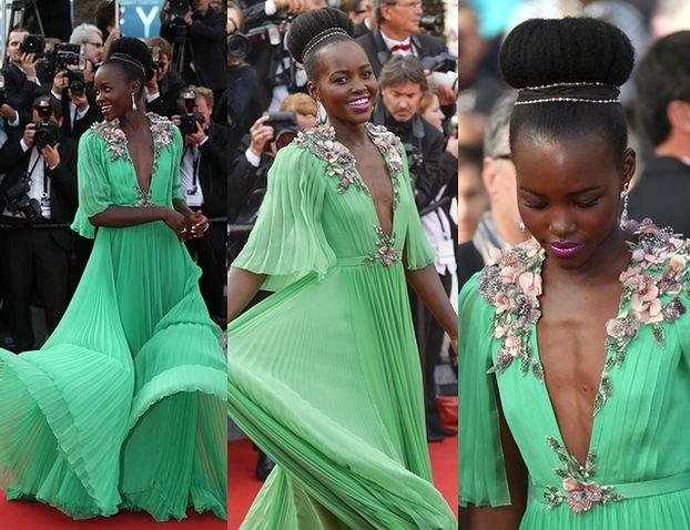 """""""Dekolt"""" Lupity w Cannes... (ZDJĘCIA)"""