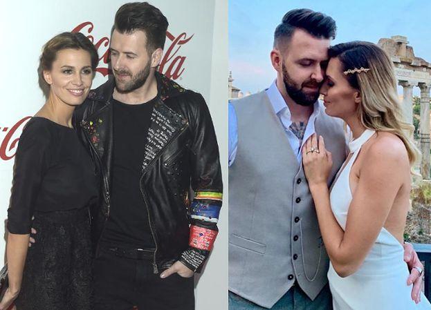 """Agnieszka Hyży świętuje w Rzymie CZWARTĄ rocznicę ślubu: """"Miłość nie wystarczy, może na początku"""""""